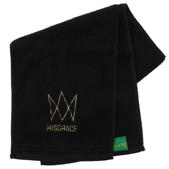 hisgrace black towel – one size – 12.50