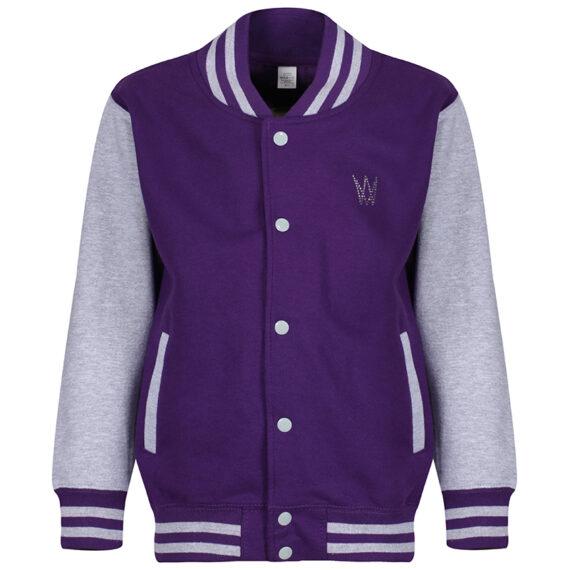 varisty – girl – purple and grey marl