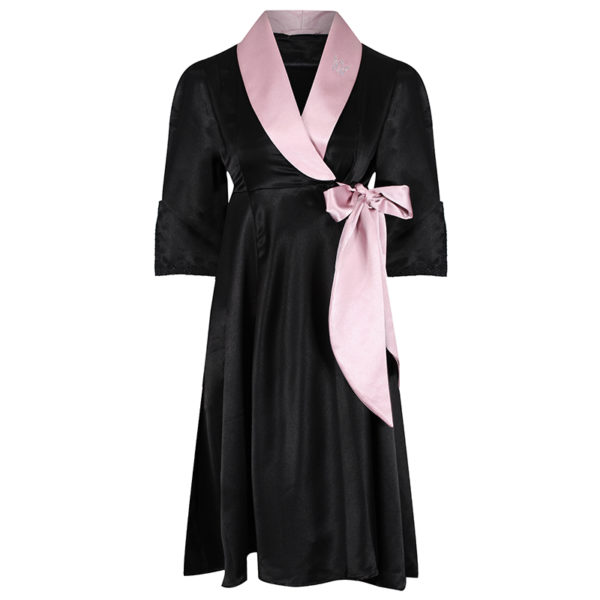 black and soft pink gown mia – 99 and 125